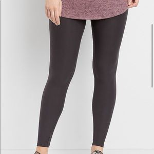 Maurices Thunder Gray Ultra Soft Full Leggings